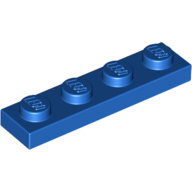 LEGO Blue // Bright Blue Antenna 1 X 4 Flat Top Pack of 8 3957b New.