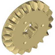 6084724 Brick 18575 5x LEGO NEW Tan Double Bevel Gear with 20 Teeth