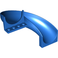 LEGO part 11267 Slide Curved 180° in Bright Blue/ Blue