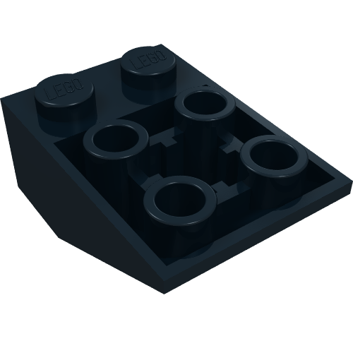LEGO 32124 Technic Plate 1x5 with Smooth Ends 4 Studs and Center Axle Hole x2