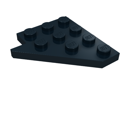 3660 Lego Slope Inverted 45° 2x2 Yellow x16 wide stud holes
