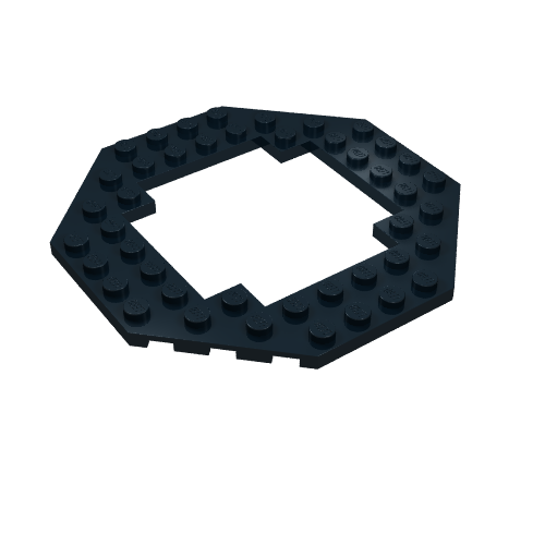 Minifig Head Alien with Gray Mask and Mouth Grille Pattern LEGO UFO