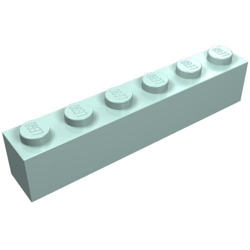 LEGO 30365 Hinge Brick 1x2 Locking 2 Fingers Vertical end x20 light bluish grey