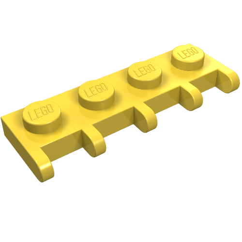 NEW LEGO Part Number 3749 in Brick Yellow