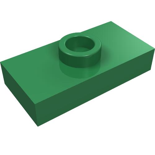 AKA: Dark Bluish Grey USED LEGO Part No 2444 in Dark Stone Grey