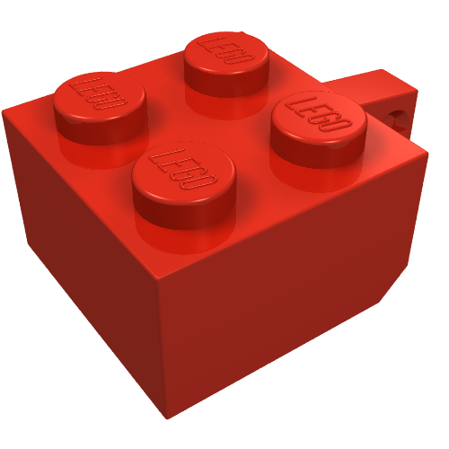 New LEGO Lot of 4 Red 2x2 Round Tiles