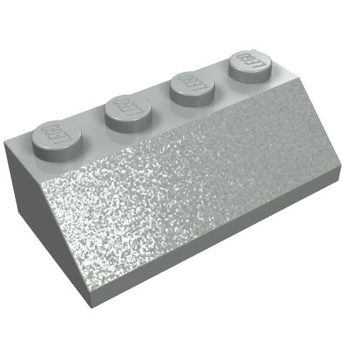 4.5V Railway TRAIN Small Buffer 2x1 in BLACK 2 Lego 12V