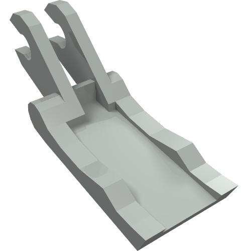 light gray 1 X  4221 Arm Grab Jaw