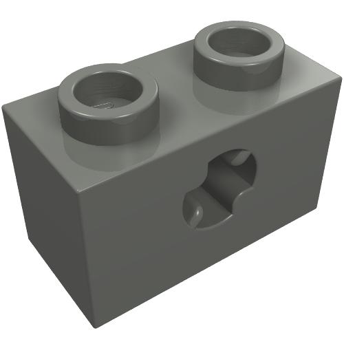 6 1x2 Light Gray Inverted Rounded Bottom Bow Brick Bricks NEW Parts
