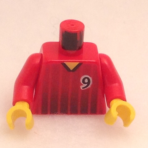 *NEW* 8 Pieces Lego Minifig YELLOW HEAD Mustache Black BANGS Sideburn