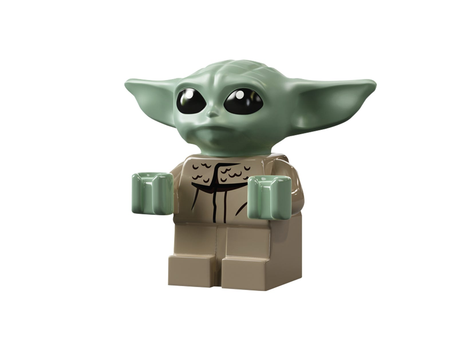 Star War Kylo Rened Knight Ren Lego MOC Mandalorian Baby Yoda