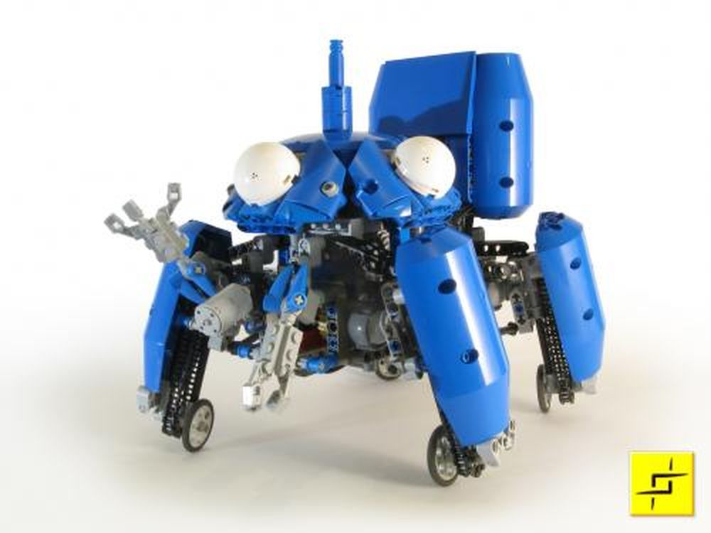 Lego Moc Ghost In The Shell Tachikoma By Mahj Rebrickable Build With Lego