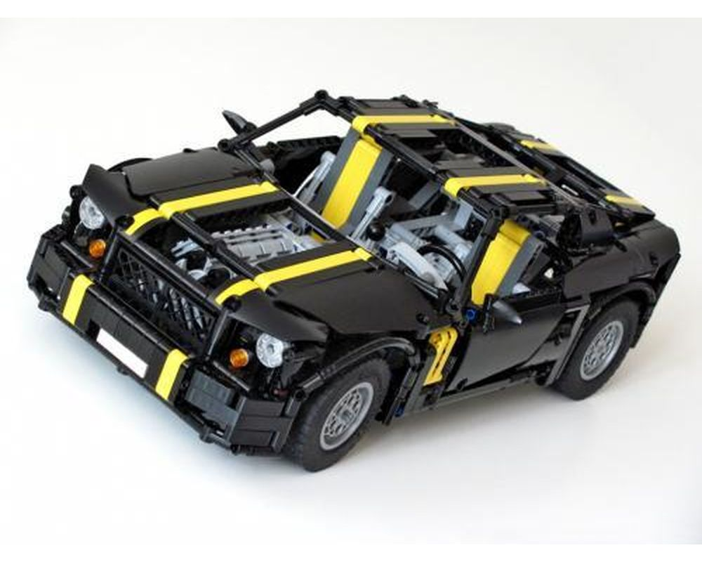 TECHNIC MOC 0328 Pony Car by NKubate MOCBRICKLAND