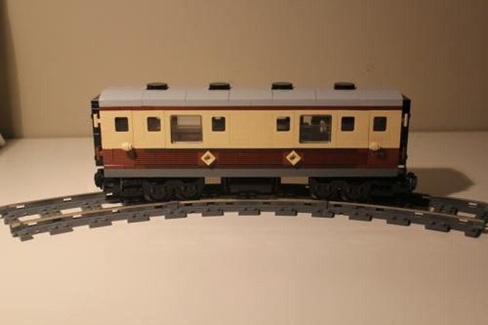 Lego Moc 0343 Emerald Night Kitchen Car Train 2012