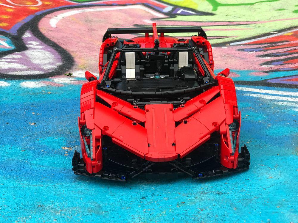 Lego Moc 10559 Lamborghini Veneno Roadster 50th Anniversary