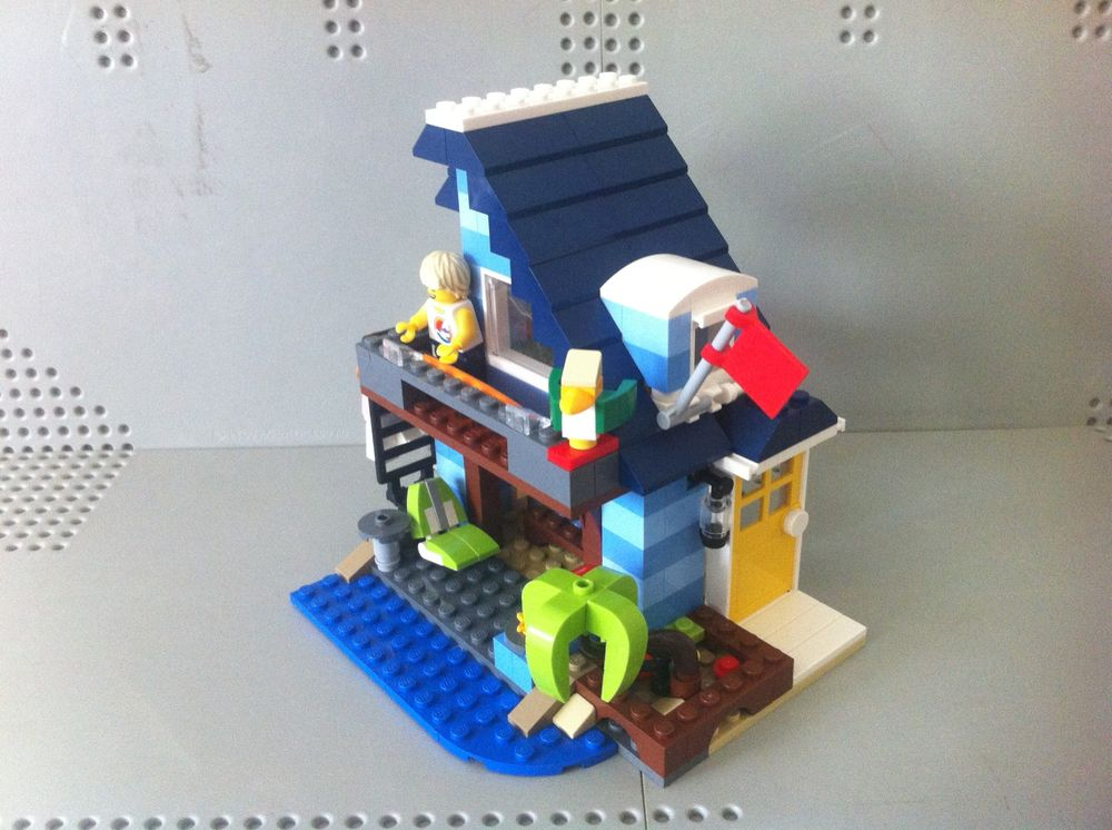 Lego Moc 11035 31063 Modern Beach House Creator Gt Model