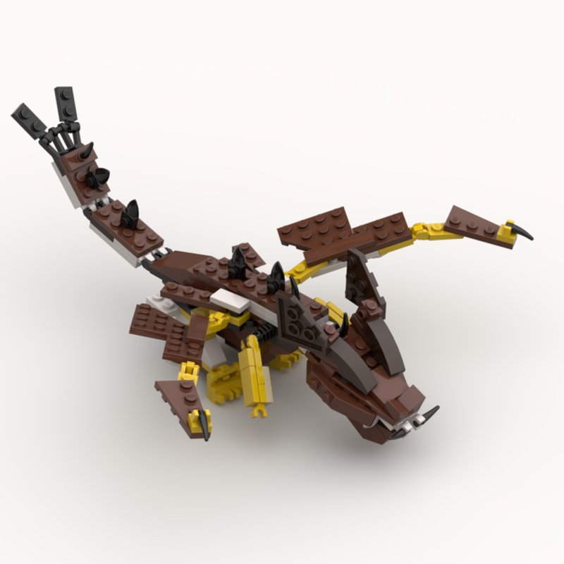 LEGO MOC-1116 Dragon (Creator 2013) | Rebrickable - Build