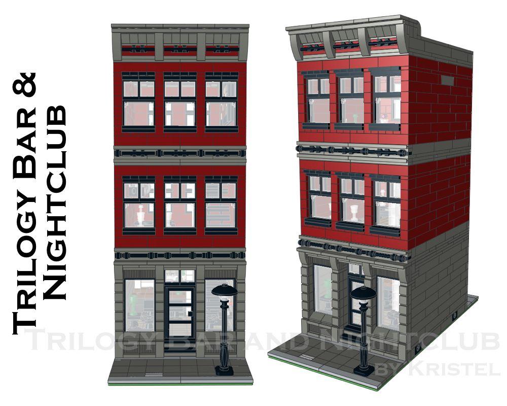Street sight moc 11375 trilogy bar and nightclub by kristel mocbrickland