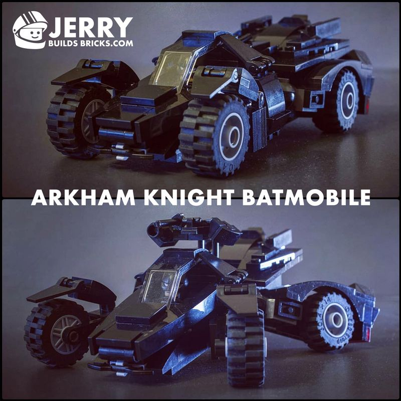 Lego Batman Arkham Knight: LEGO MOC-12398 Arkham Knight Batmobile (Super Heroes