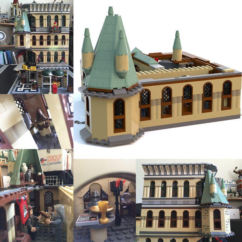 hogwarts castle lego alternate instructions