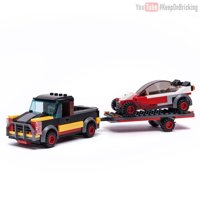 LEGO MOC-12865 60183 Pick UP & Buggy (Town > City 2018