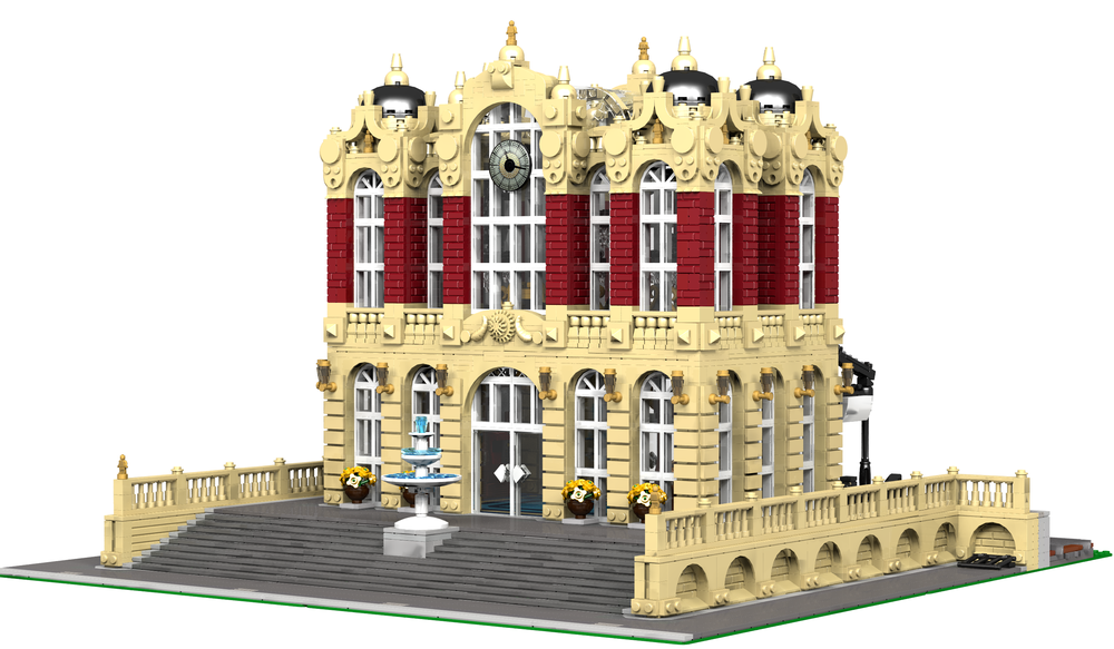 LEGO MOC-12929 Central Station (Creator > Model > Building 2018