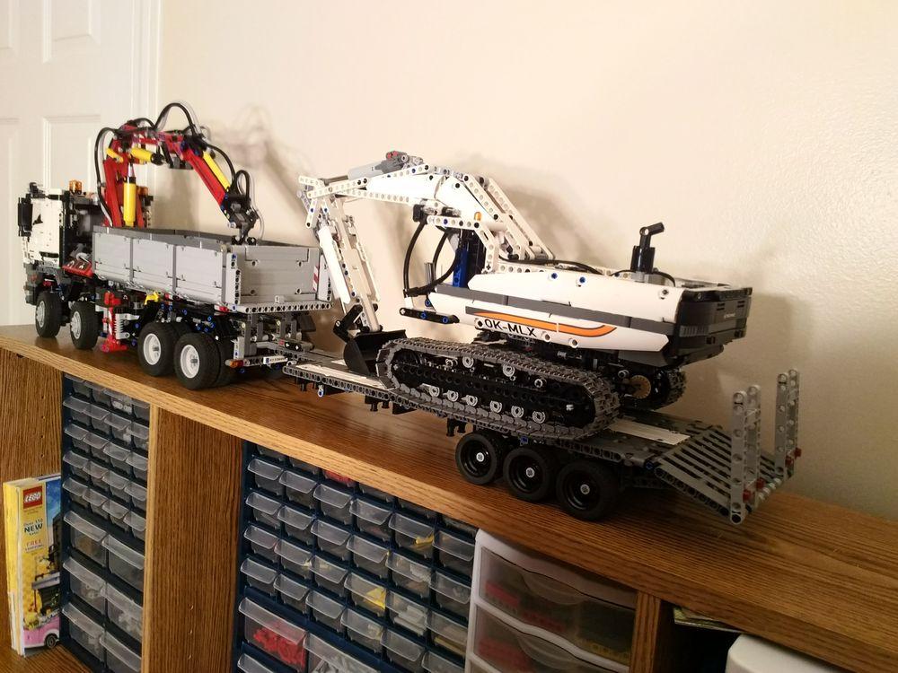 LEGO MOC-13341 Lowboy trailer (Technic > Model > Construction 2017) | Rebrickable - Build with LEGO
