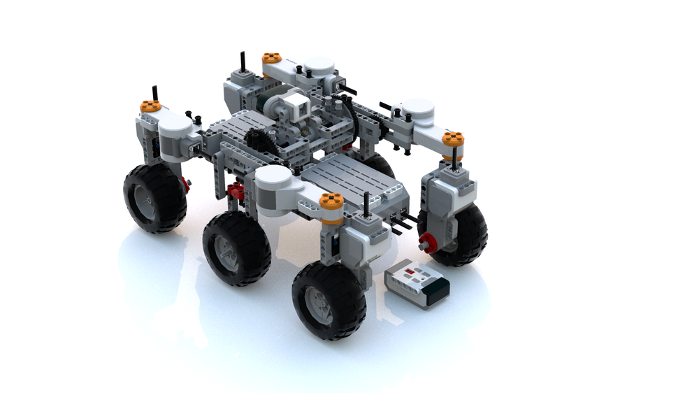 LEGO MOC-13368 Simple Mars Rover (Mindstorms > EV3 2018