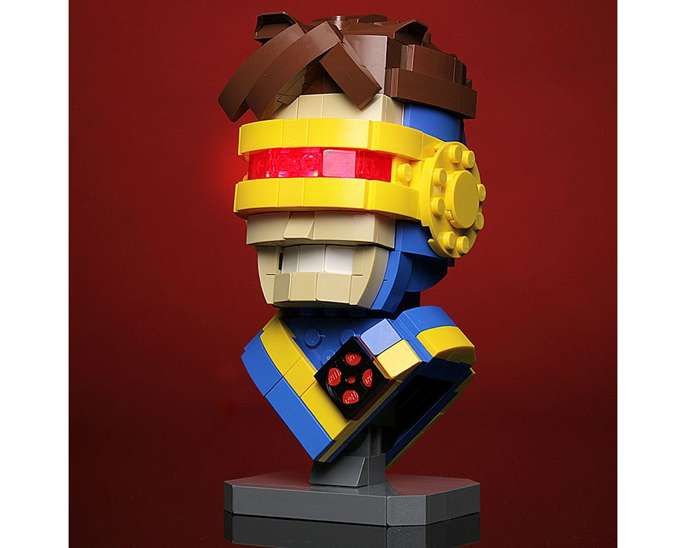 MOVIE SERIES MOC-13639 Cyclops Bust by Buildbetterbricks MOCBRICKLAND