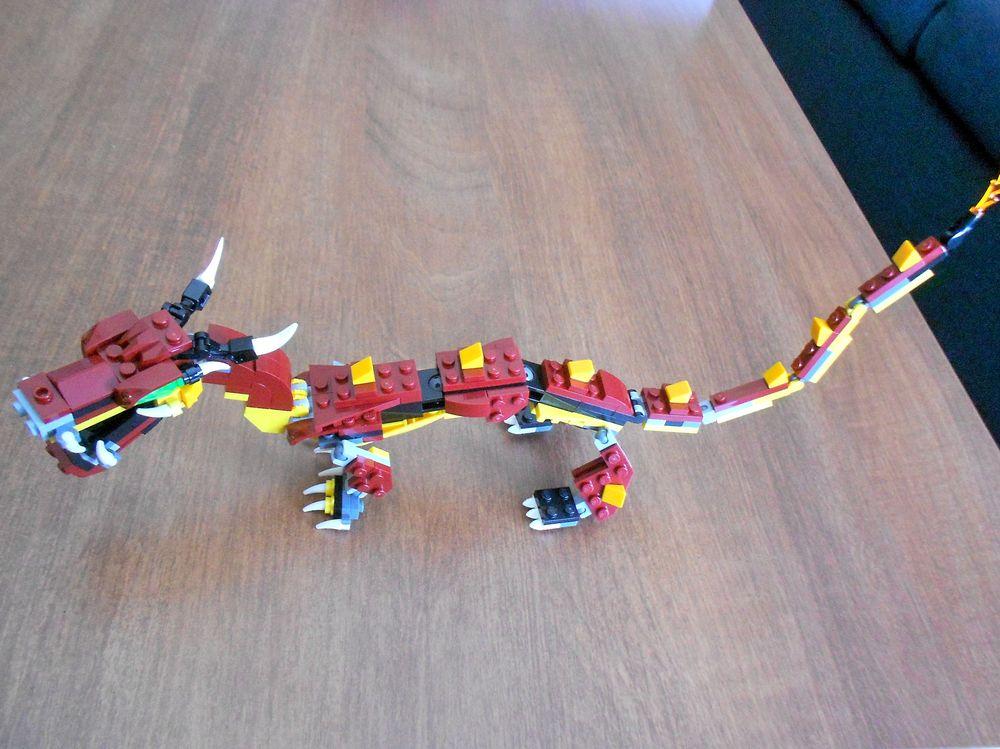LEGO MOC-14012 Mythical Asian Dragon (Creator > Model > Creature