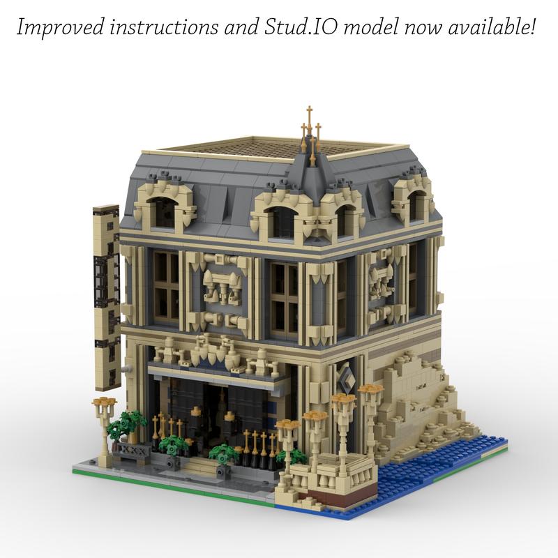 Lego Moc 14123 The Lounge 10253 Big Ben Alternate Model