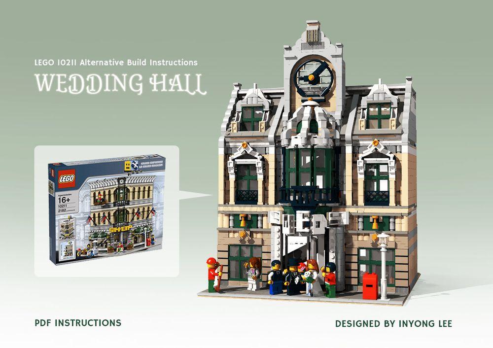 LEGO MOC-14248 10211 Grand Emporium Alternative build