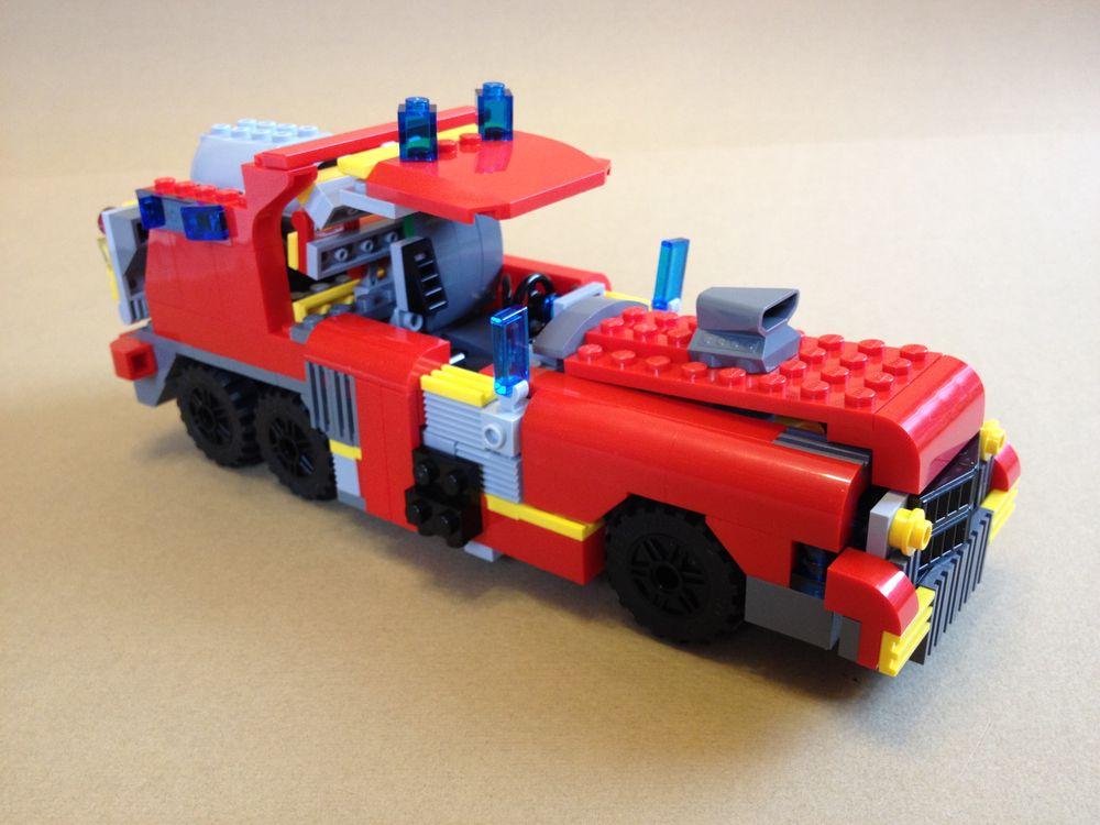 LEGO MOC-1431 Heavy Load Oldsmobile Pickup Truck (Creator