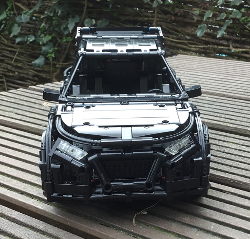 LEGO MOC-14441 Technic RC Audi rally car with BuWizz 2.0 ...