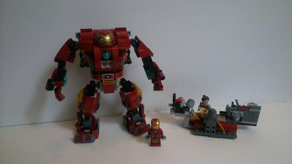 LEGO MOC-14663 Mark XLIV Hulkbuster (Super Heroes > Iron Man 2018