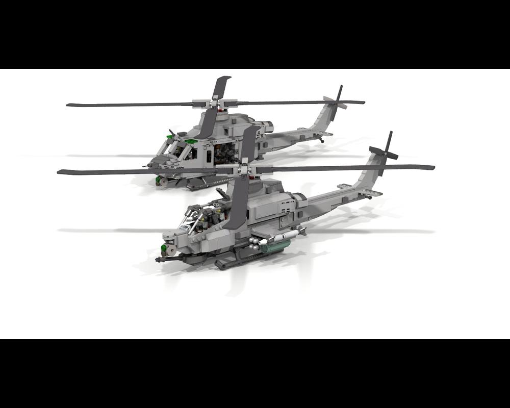 LEGO MOC-14939 AH-1Z Viper (Super Cobra) (Creator > Model