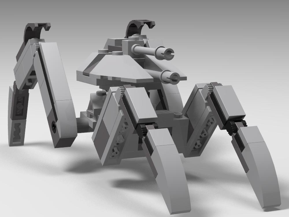 LEGO MOC-14956 KOTOR Assault Droid Mark IV (Star Wars > Star
