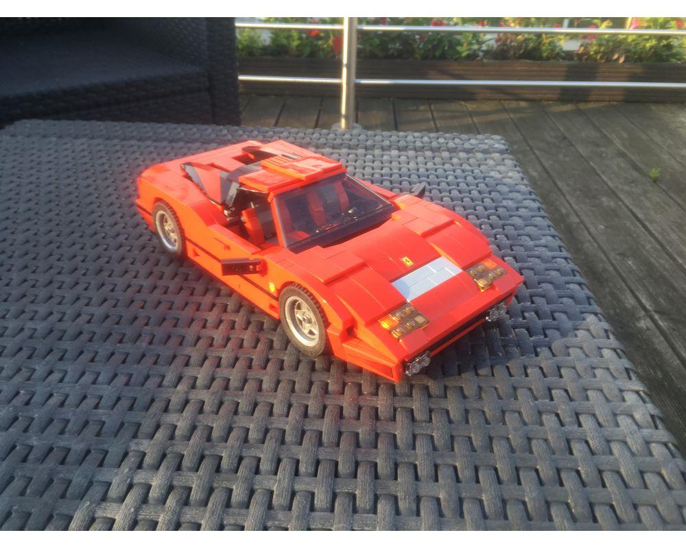 Lego Moc 10248 Set Alternate Ferrari 512bb By Xx1andi Rebrickable Build With Lego