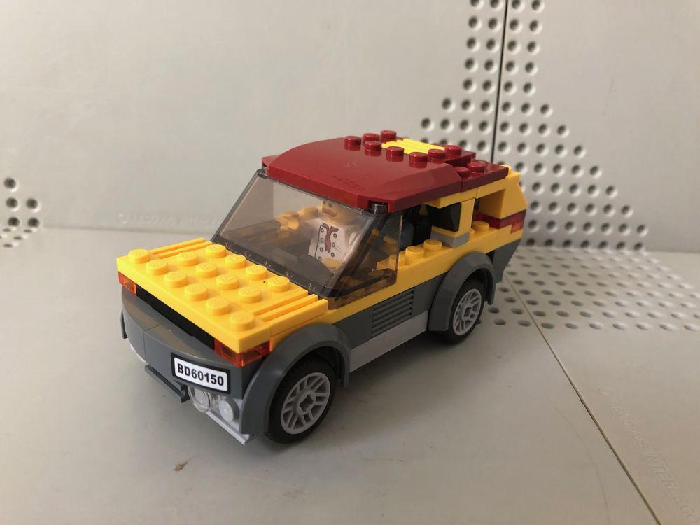 city ville gare train modular moc lot de 2 lampadaires Lego noir à led