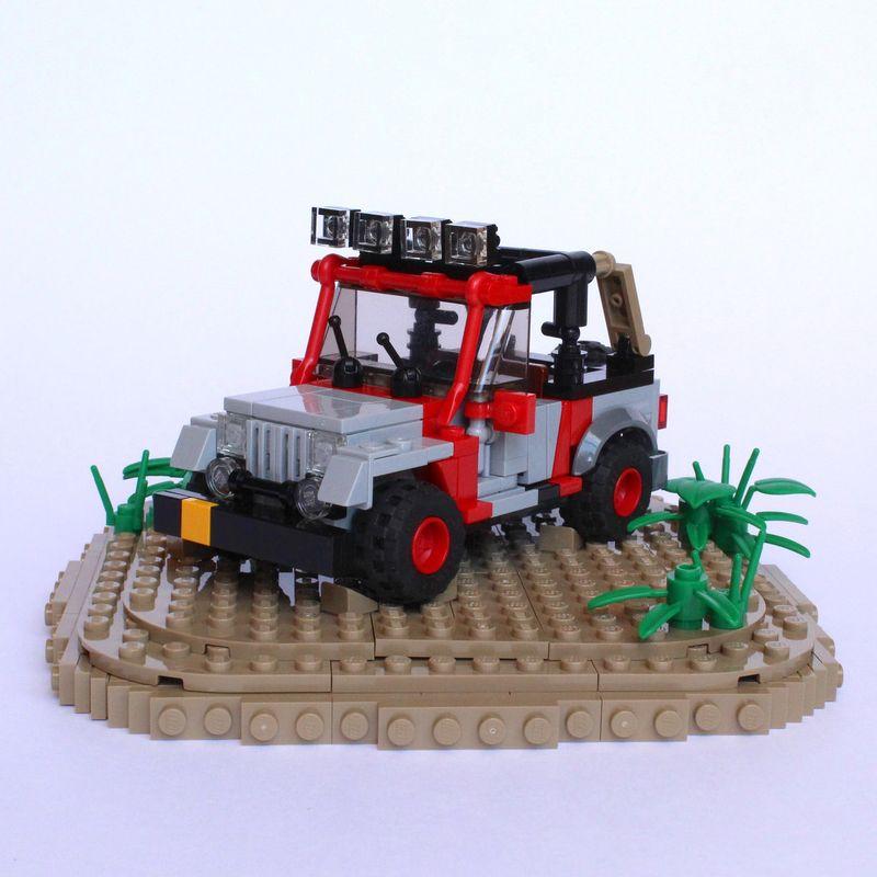 LEGO MOC-15601 Jurassic Park Jeep (Jurassic World 2018