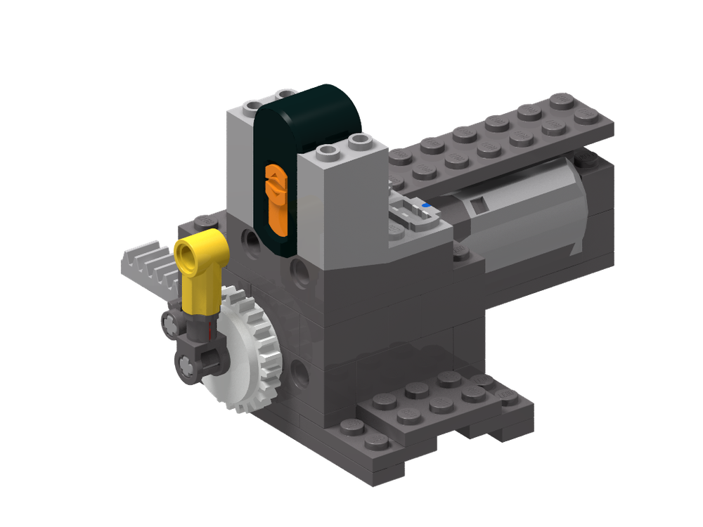 LEGO MOC-15996 Remotely controlled track switch (Train > 9V > My Own