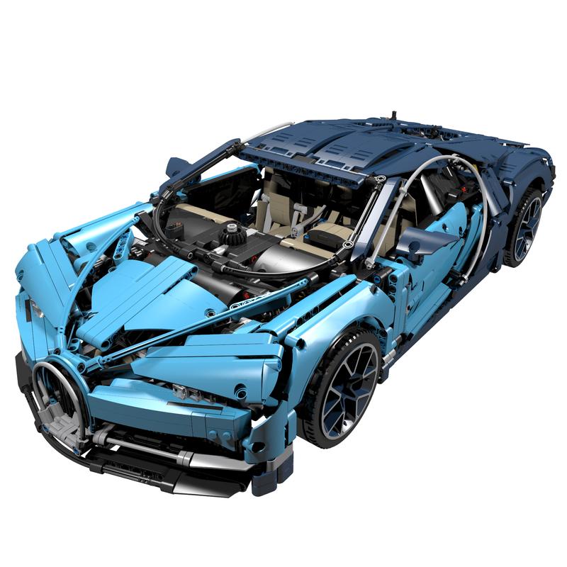 LEGO MOC-16181 42083 Pimp Up My Bugatti (Technic 2018