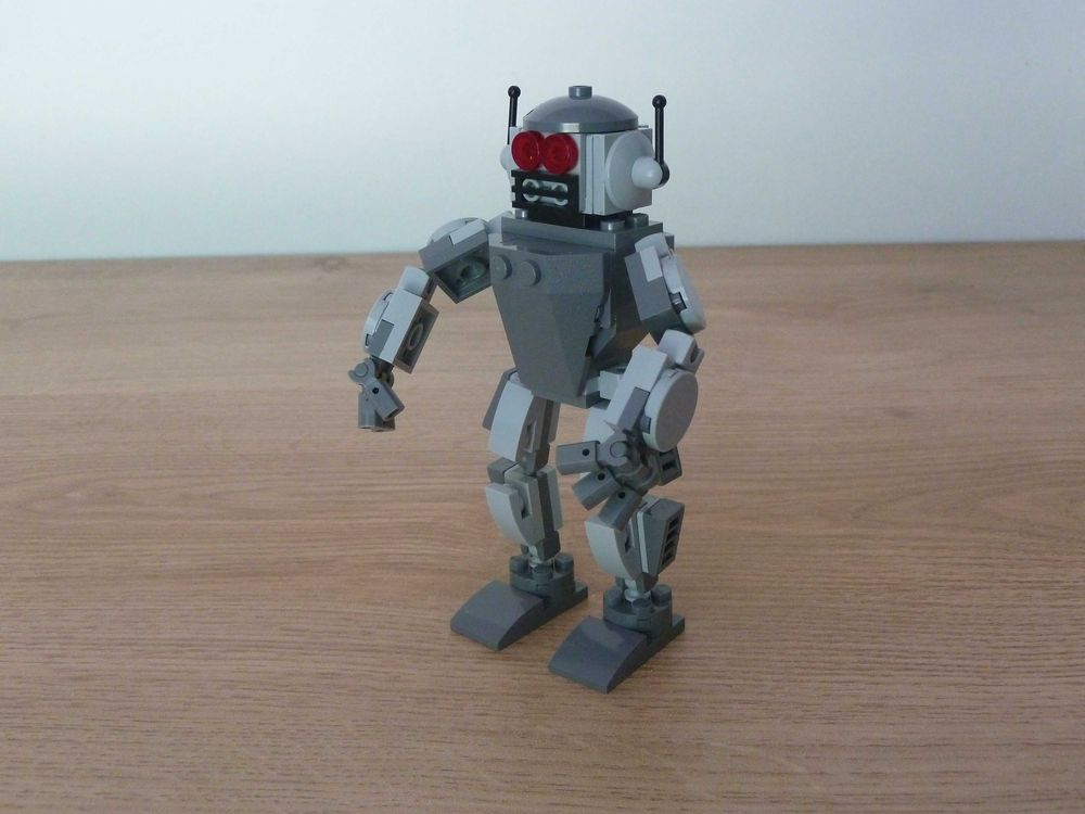 LEGO MOC-17016 LEGO How to Build a Mini Robot Instructions
