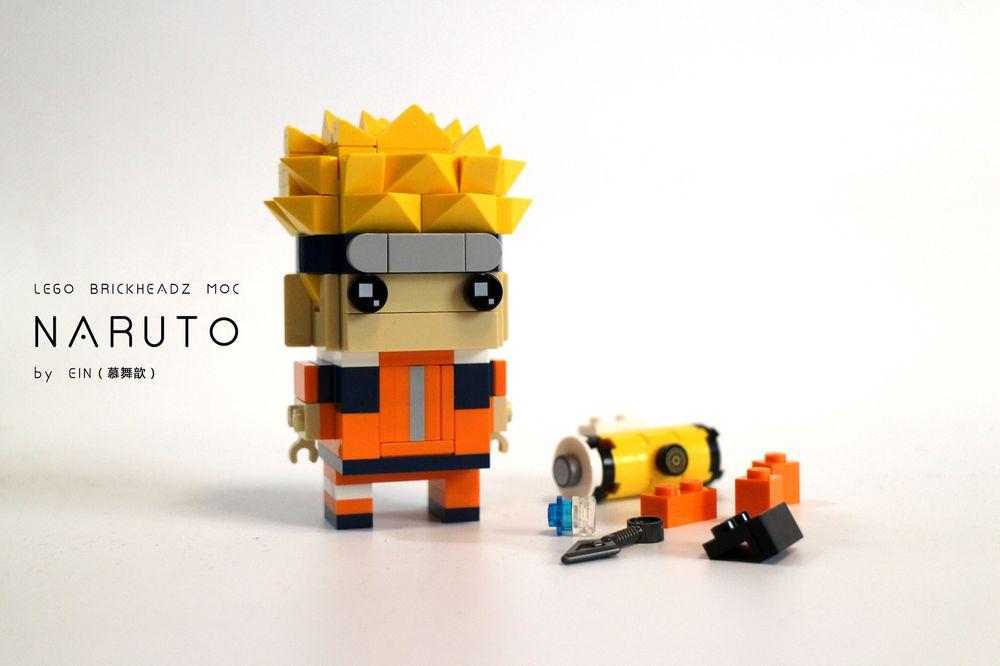 LEGO MOC-17417 NARUTO BRICKHEADZ (Brickheadz 2018 ...