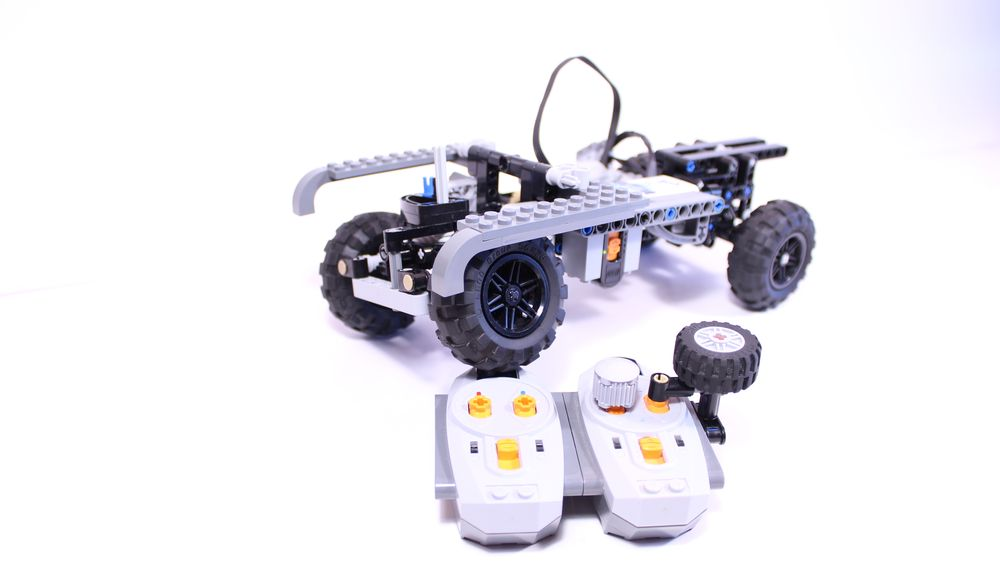 LEGO MOC-17446 Lego® Technic 4x4 Chassis (RC Mod available