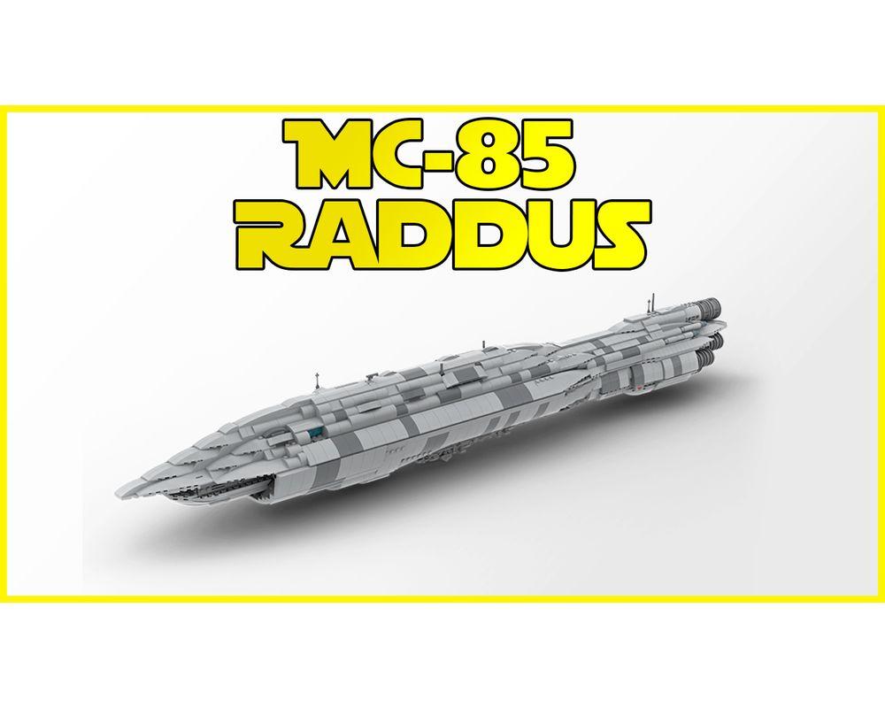 Lego Moc 18061 Mc 85 Raddus Star Wars Star Wars Episode 8 2018
