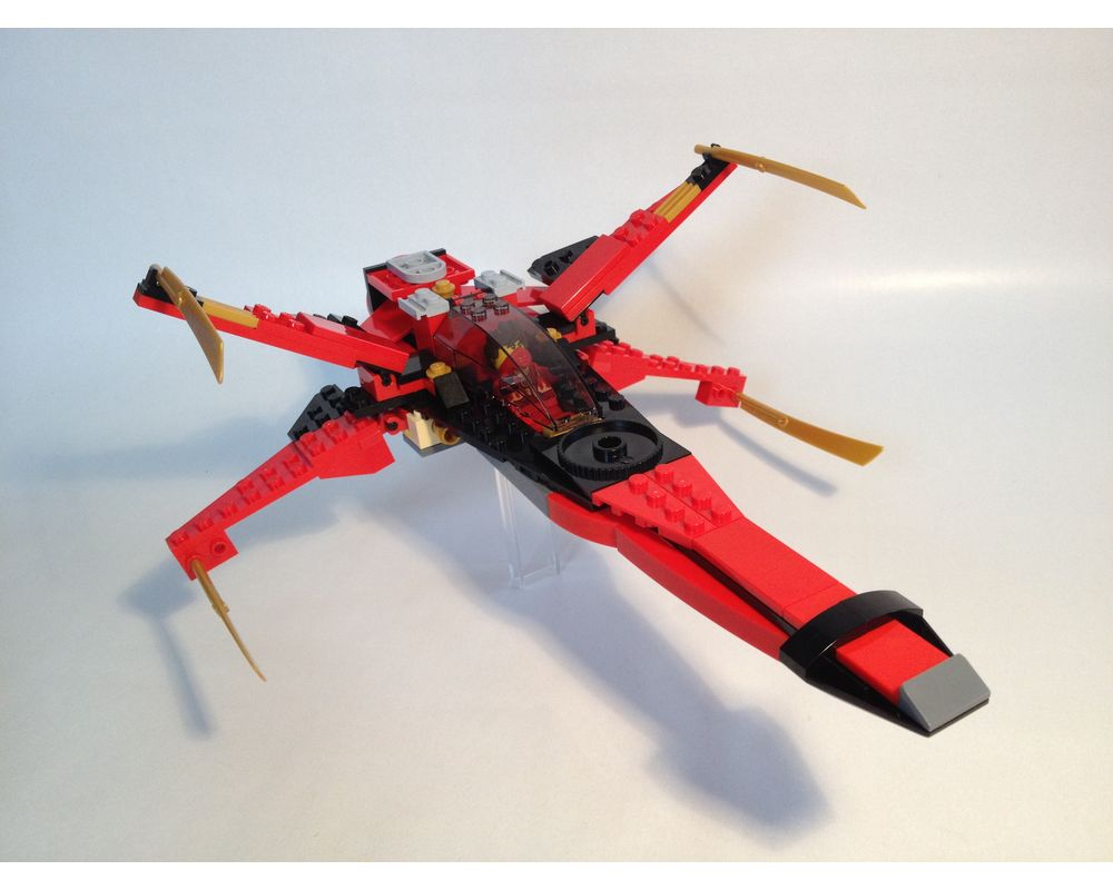 Lego Moc Kai X Wing By Plastic Ati Rebrickable Build With Lego