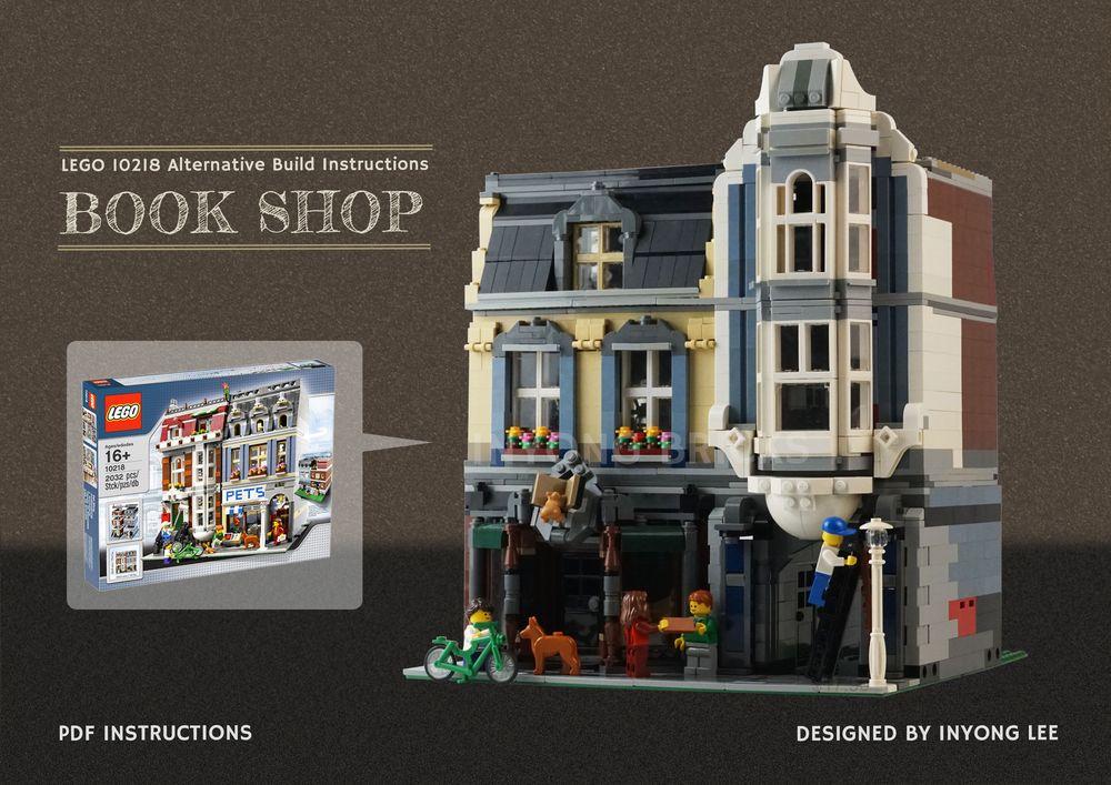 LEGO MOC-18923 10218 Pet Shop Alternative Build (Modular Buildings