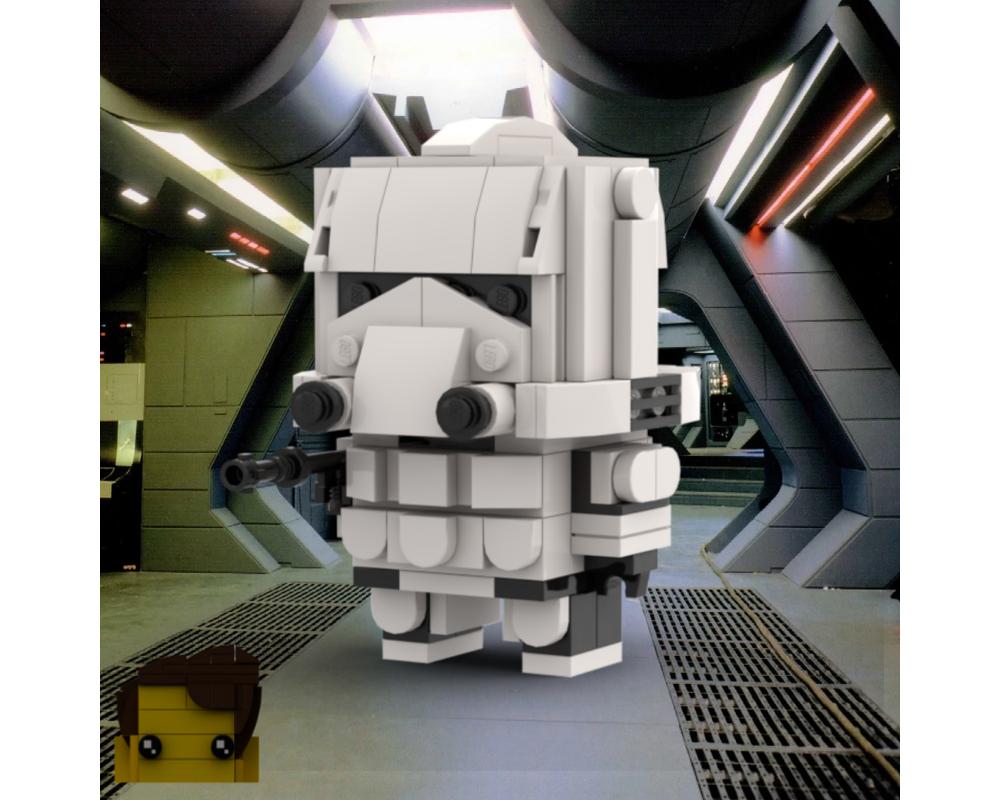 Lego Moc Phase Ii Clone Brickheadz By Grievous Bricks Rebrickable Build With Lego