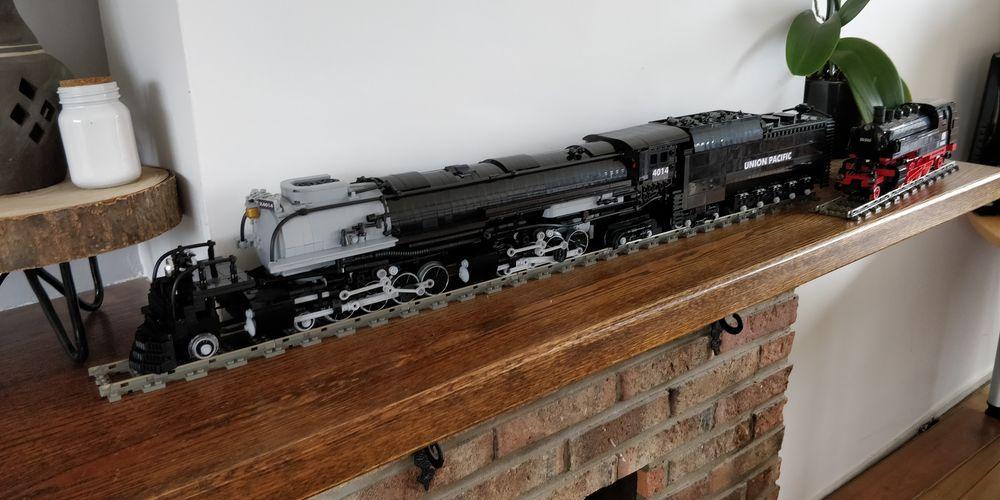 LEGO MOC-19554 Union Pacific 4014 Big Boy (Train > RC Train